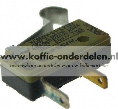 Micro-schakelaar servicedeur en lekbak
