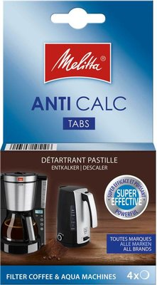 Melitta Anti Calc tabletten - 4 x 12 gr.