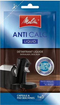 Melitta Anti Calc vloeibare ontkalker - capsule & pads