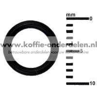 O-ring dichting voor connectie