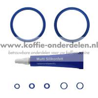 Onderhoudsset voor de zetgroep met Premium lippenafdichtingen