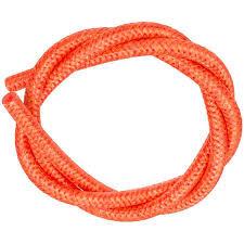 Siliconen gevlochten slang Ø 4,20mm x 2,00mm x Lengte 100 cm