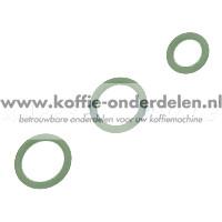 O-ringenset voor de DeLonghi ECAM  opschuimer