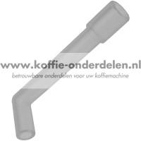 Hoekslang van ventielopener naar Flowmeter