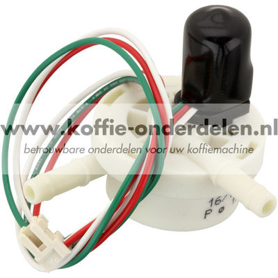 Flowmeter met kabel en stekker