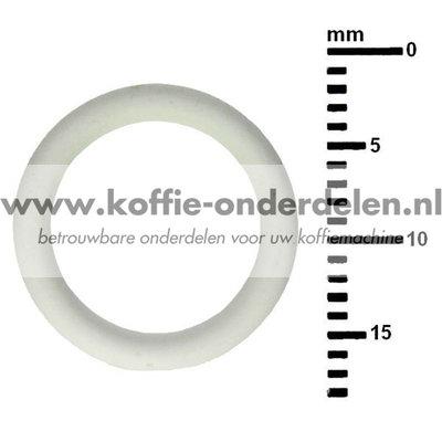 Jura O-Ring 11x2 Siliconen, wit