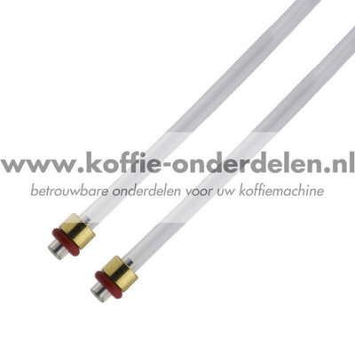 Jura Slang compleet 4x2x130mm incl. dichtingen