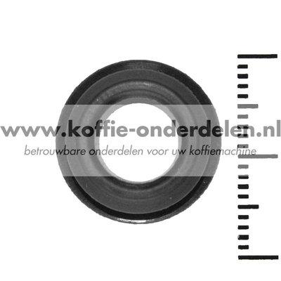 O-ring onder de zuiger van de zetgroep