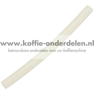 Siliconen gevlochten slang 160mm