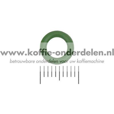 O-ring - groen - voor Verbinding Melkreservoir