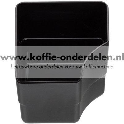Koffie afvalbakje 507 zwart