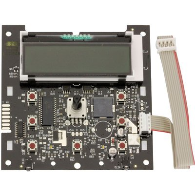 Printplaat bediening met display en kabel