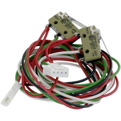 Micro-schakelaar met kabels voor positie draaiarm