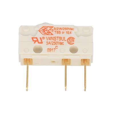 Micro-schakelaar V4NST9UL 5A 250V