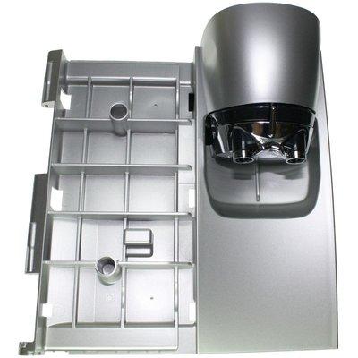 Deur compleet met koffie-uitloop Zilver voor DeLonghi Magnifica EAM4, ESAM4