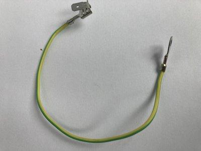 Siliconen Litze geel/groen 200mm voor het Verwarmingslement